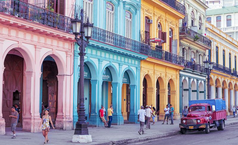 A street in Old Havana, Cuba