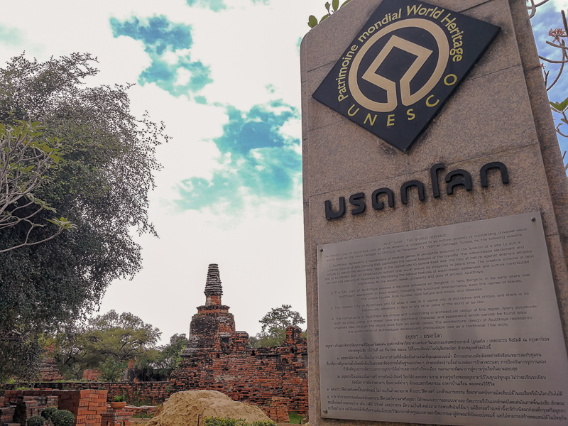 UNESCO World Heritage Inscription at Ayutthaya
