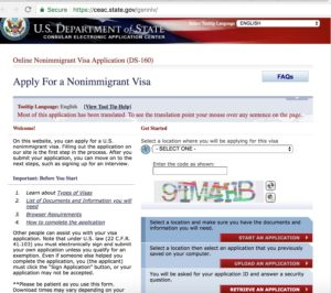 DS-160 Form - Apply for a NonImmigrant US Visa