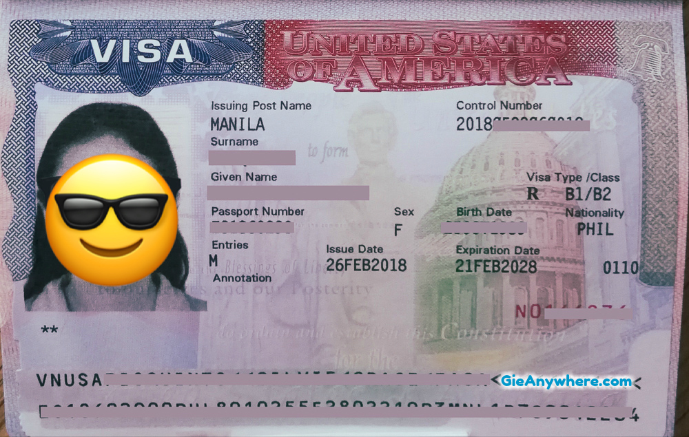 How To Apply For US Visa In The Philippines - Gie Anywhere